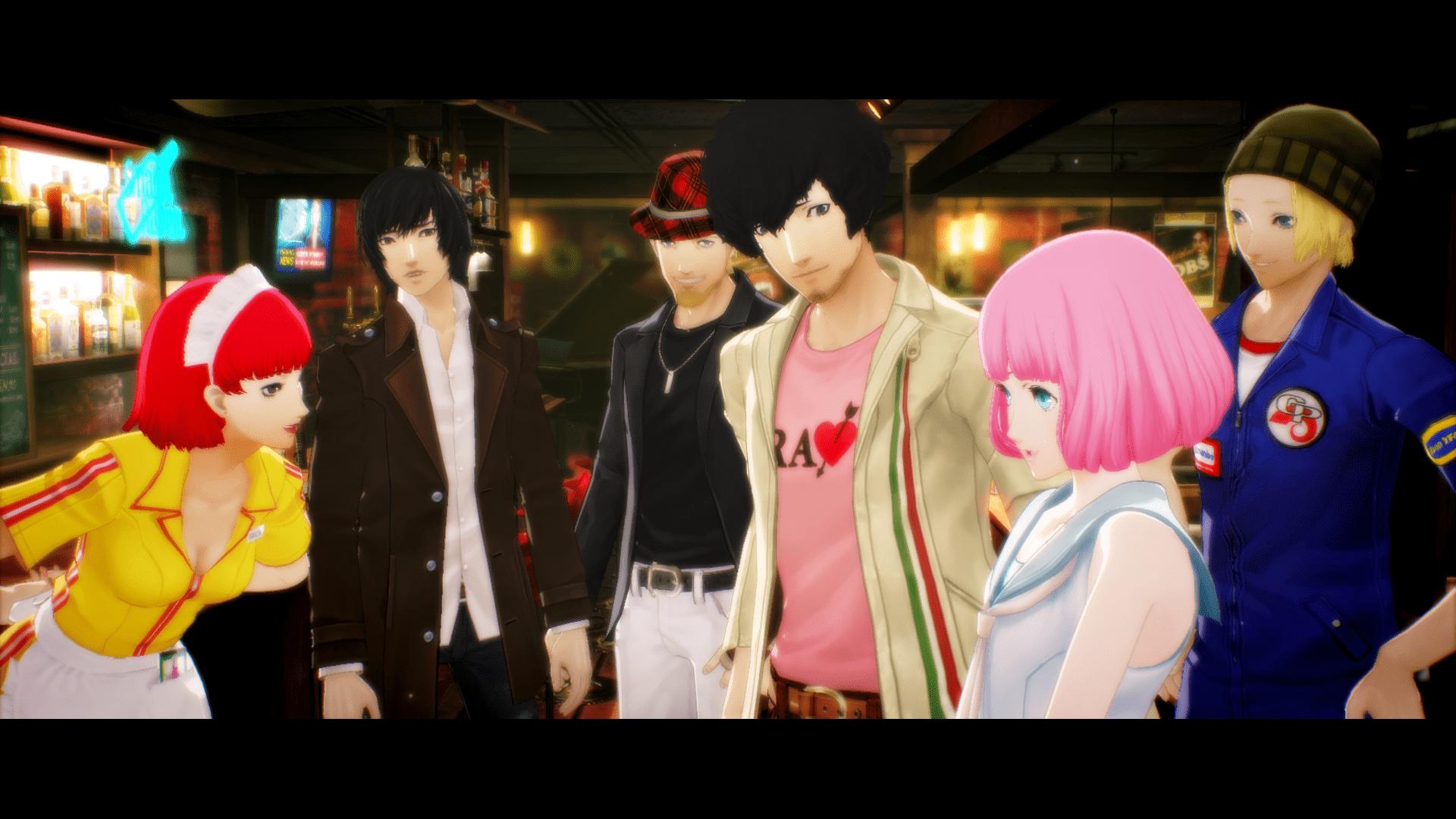 Vincent mit deinen Freunden und Neuzugang Rin