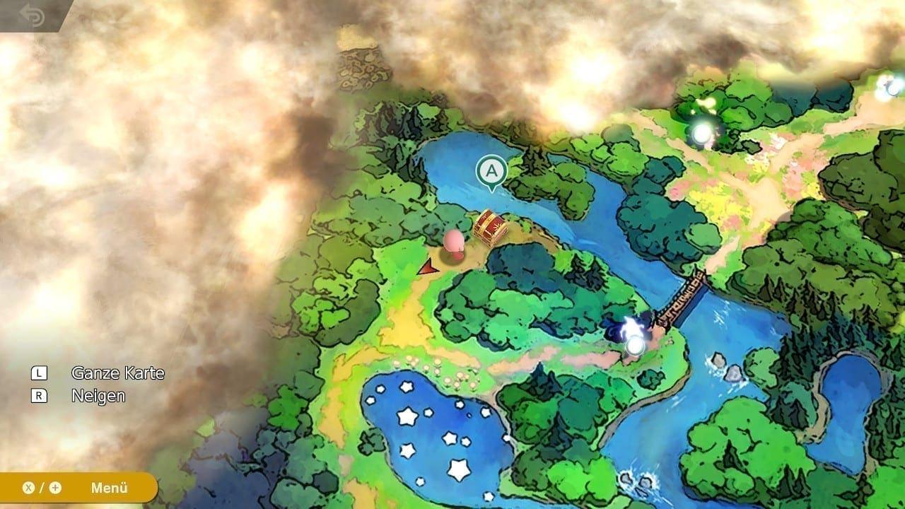 Kirby in der Schattenwelt der Single-Player Kampagne