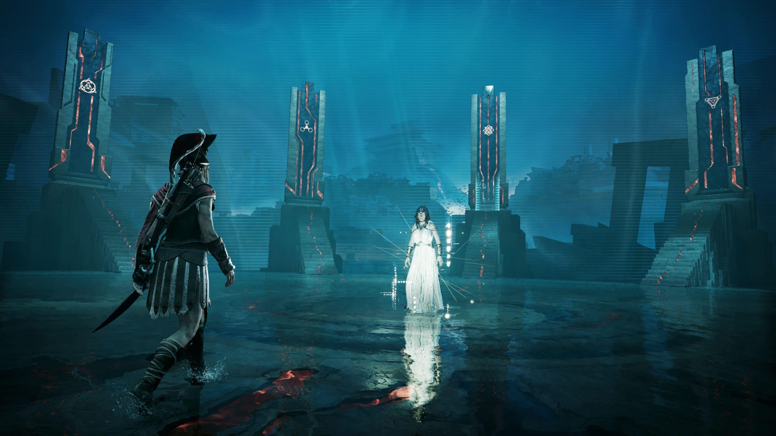 Aletheia und das Portal nach Elysium.