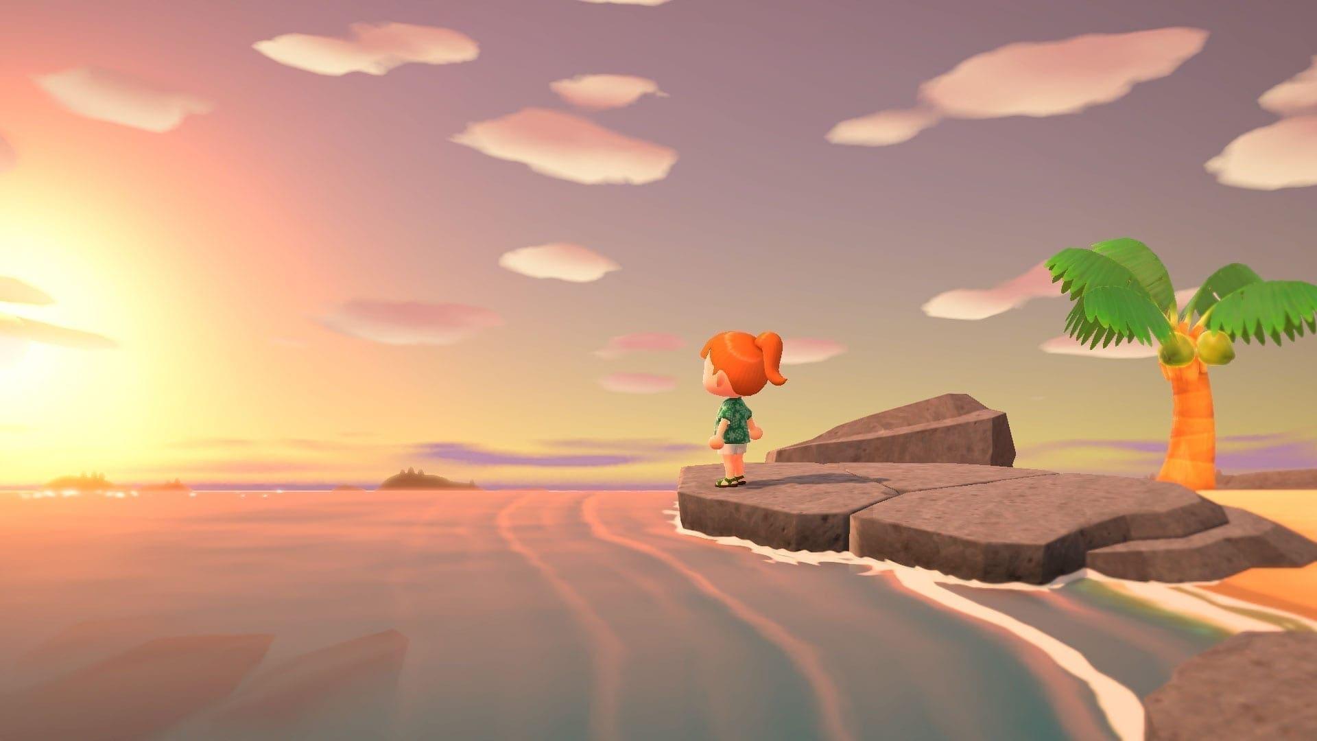 New Horizons - Sonnenuntergang