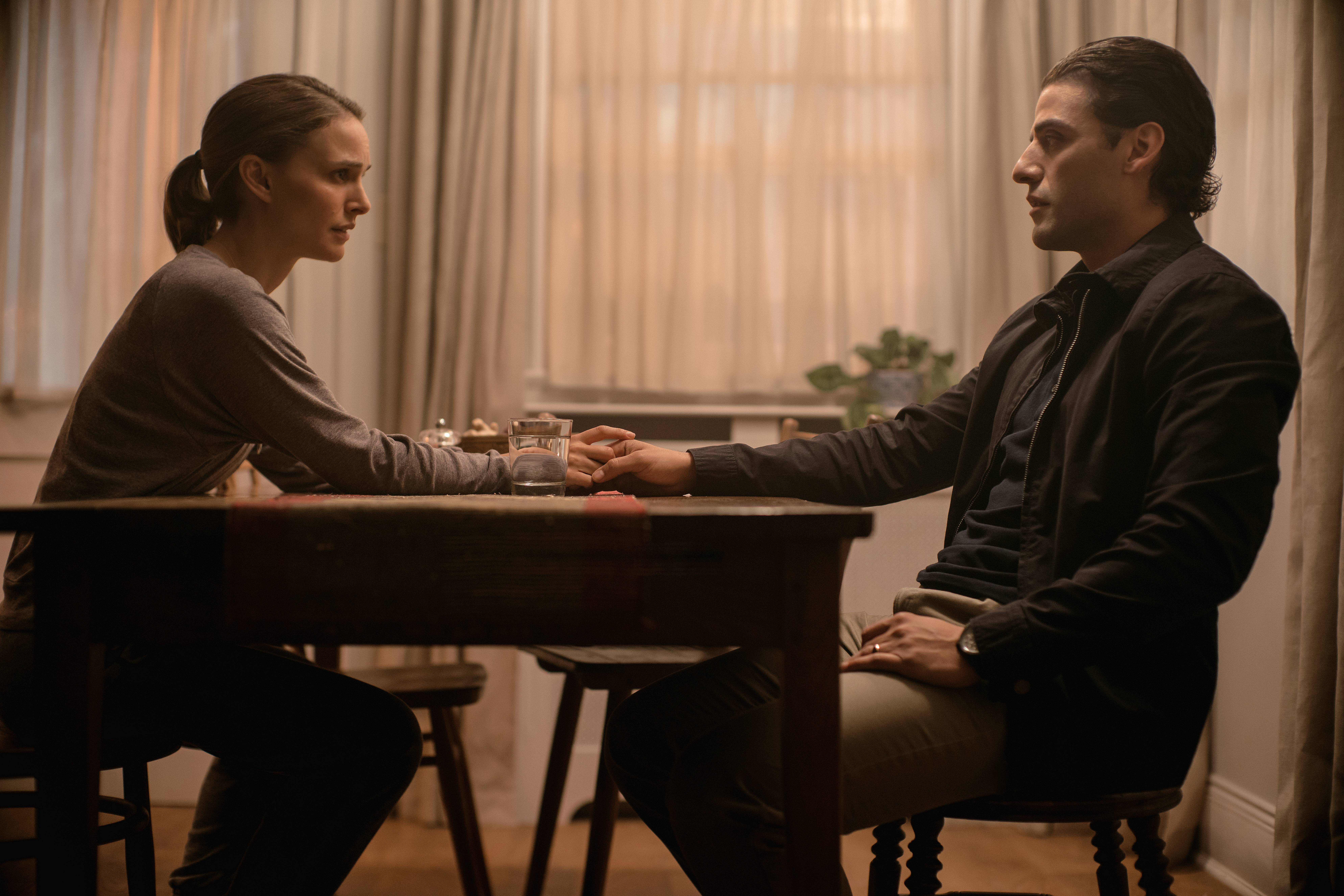 Left to right: Natalie Portman and Oscar Isaac in ANNIHILATION, from Paramount Pictures and Skydance.