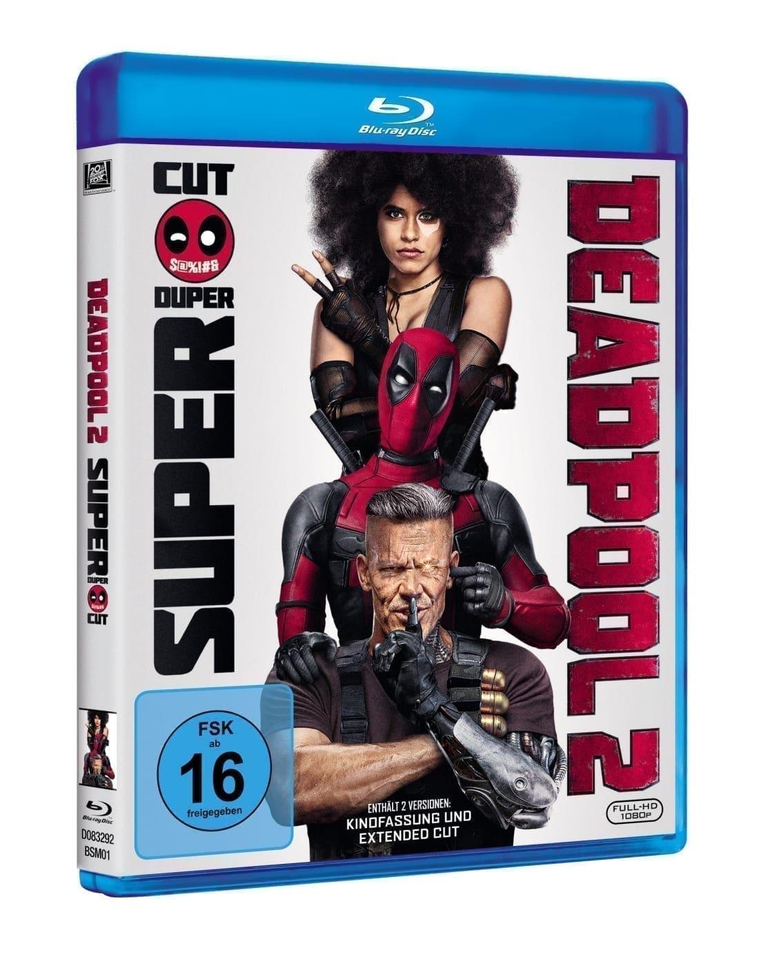 Deadpool 2 packshot