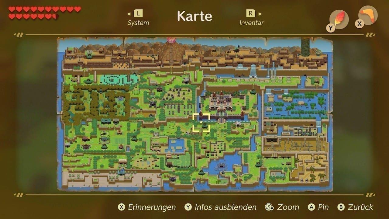 Die Insel Cocolint ist kleiner als andere Zelda-Welten, aber genauso abwechslungsreich.