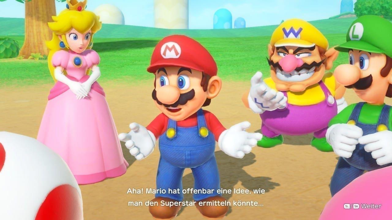 Mario hat schon eine Idee wie der Superstar ermittelt werden kann