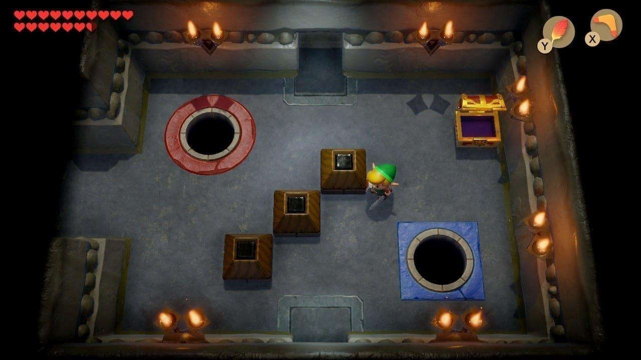 Da geheime Farb-Labyrinth stammt aus dem Remaster des Spiels für Gameboy Color.