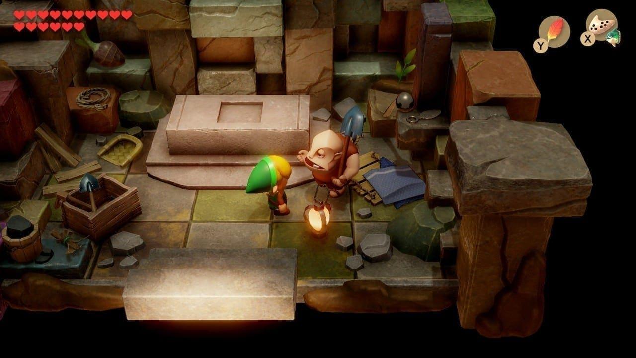 Boris bastelt für uns Kammersteine, die wir zu eigenen Labyrinthen zusammenbasteln können.