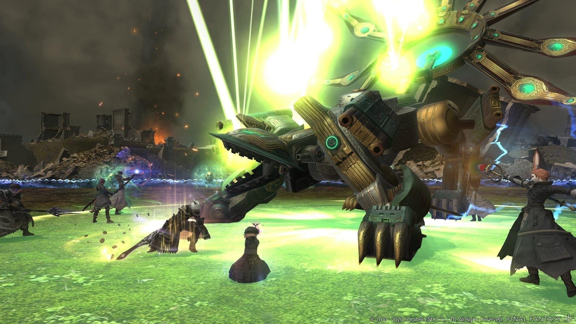 Final Fantasy XIV Online Futures Rewritten