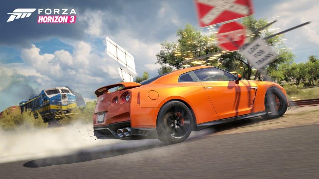 Train Race in Forza Horizon 3
