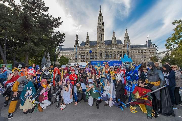 Game-City Spielemesse Tag 3, Wiener Rathaus, Wien, 3.10.2015,