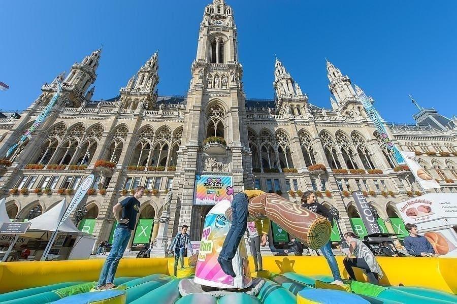 Game-City Spielemesse Tag 1, Wiener Rathaus, Wien, 2.10.2015,