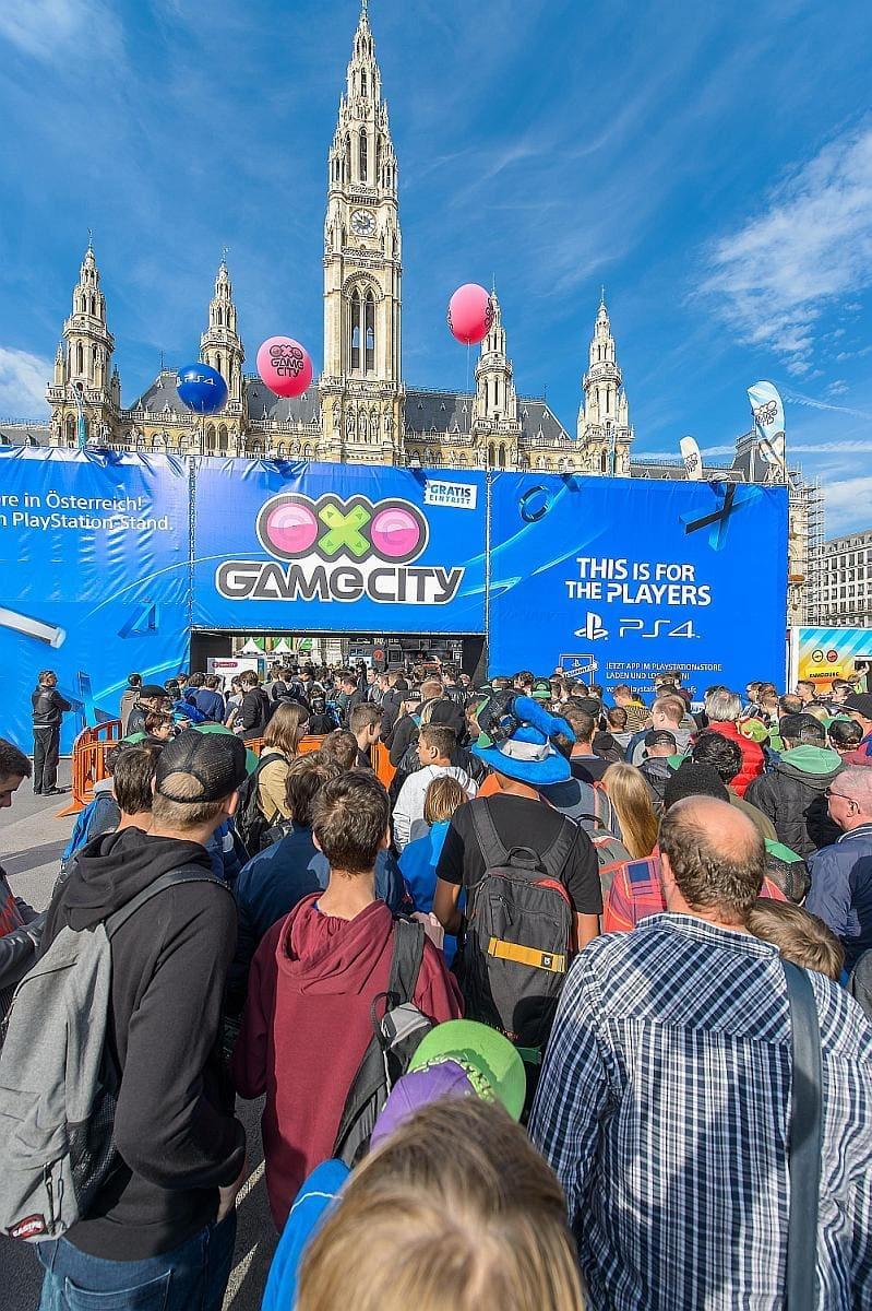 Game-City Spielemesse Tag 2, Wiener Rathaus, Wien, 3.10.2015,