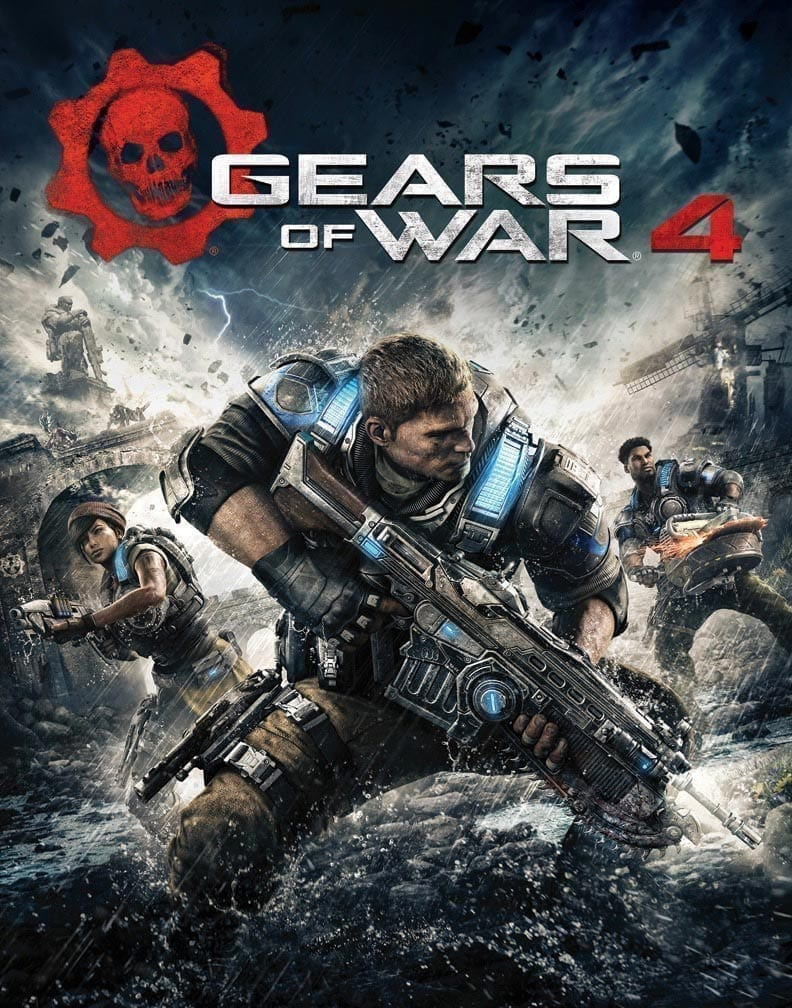 Gears of War 4 Packshot