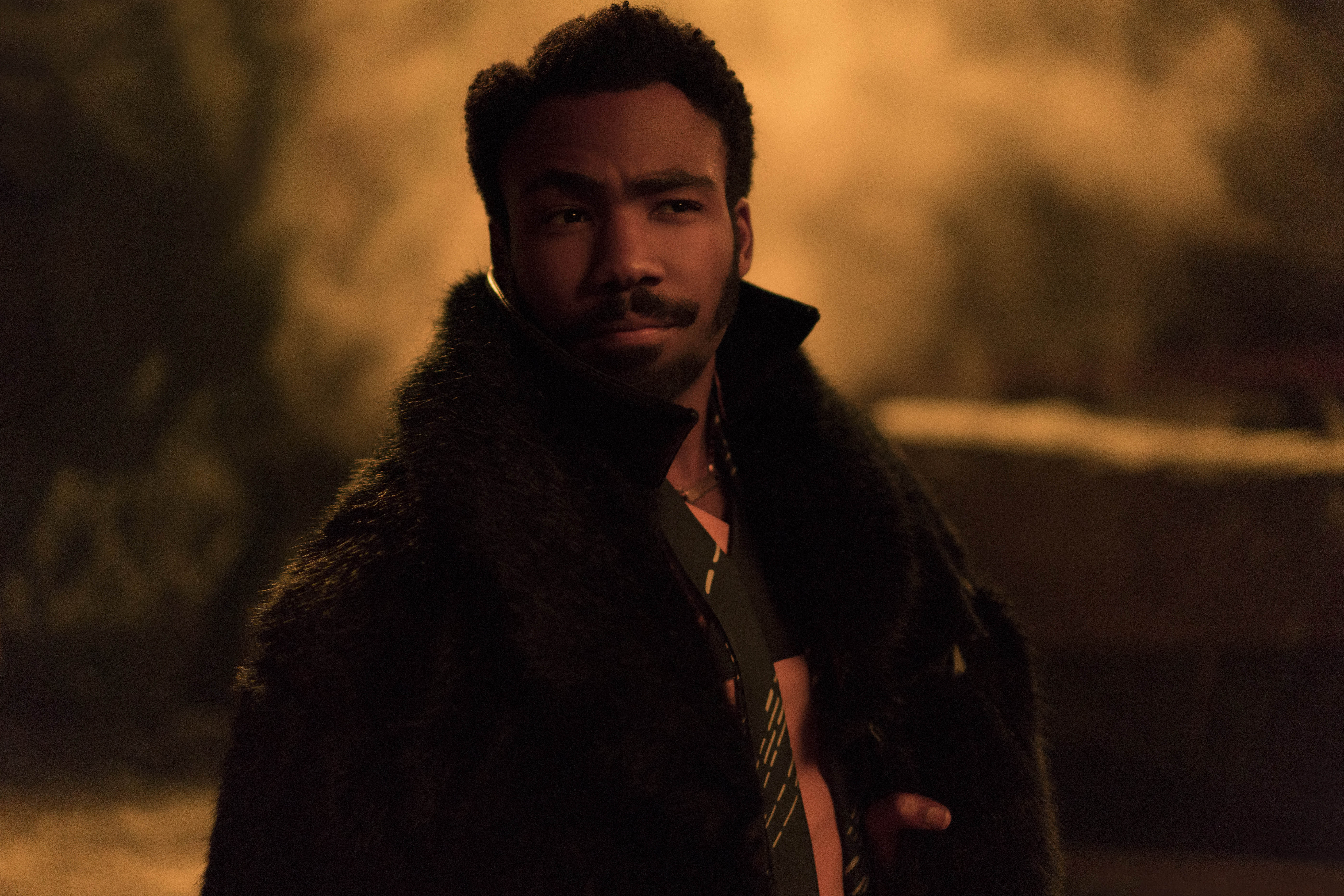 Donald Glover is Lando Calrissian in SOLO: A STAR WARS STORY. © 2017 Lucasfilm Ltd. & ™, All Rights Reserved.