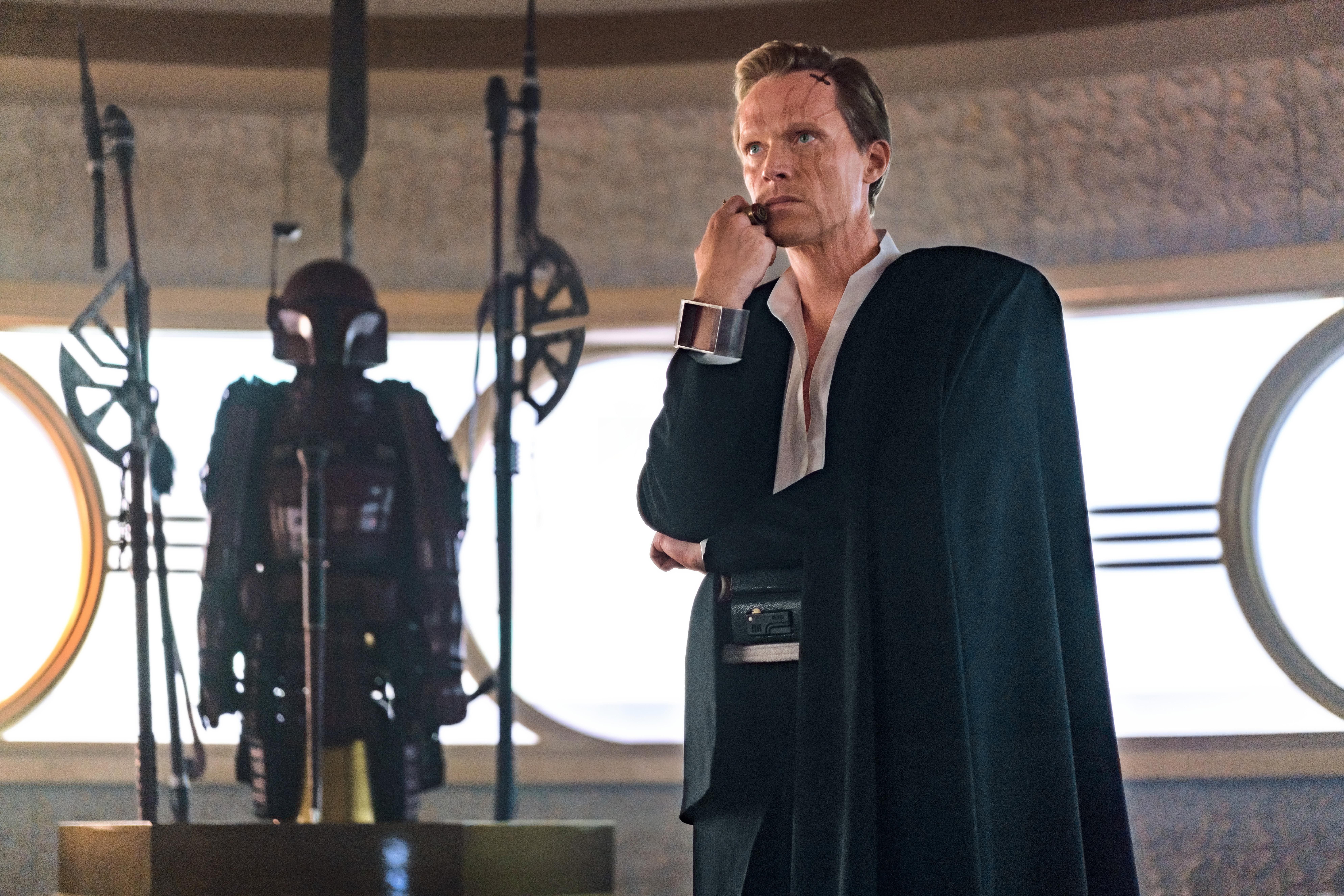 Paul Bettany is Dryden Vos in SOLO: A STAR WARS STORY © 2017 Lucasfilm Ltd. & ™, All Rights Reserved.