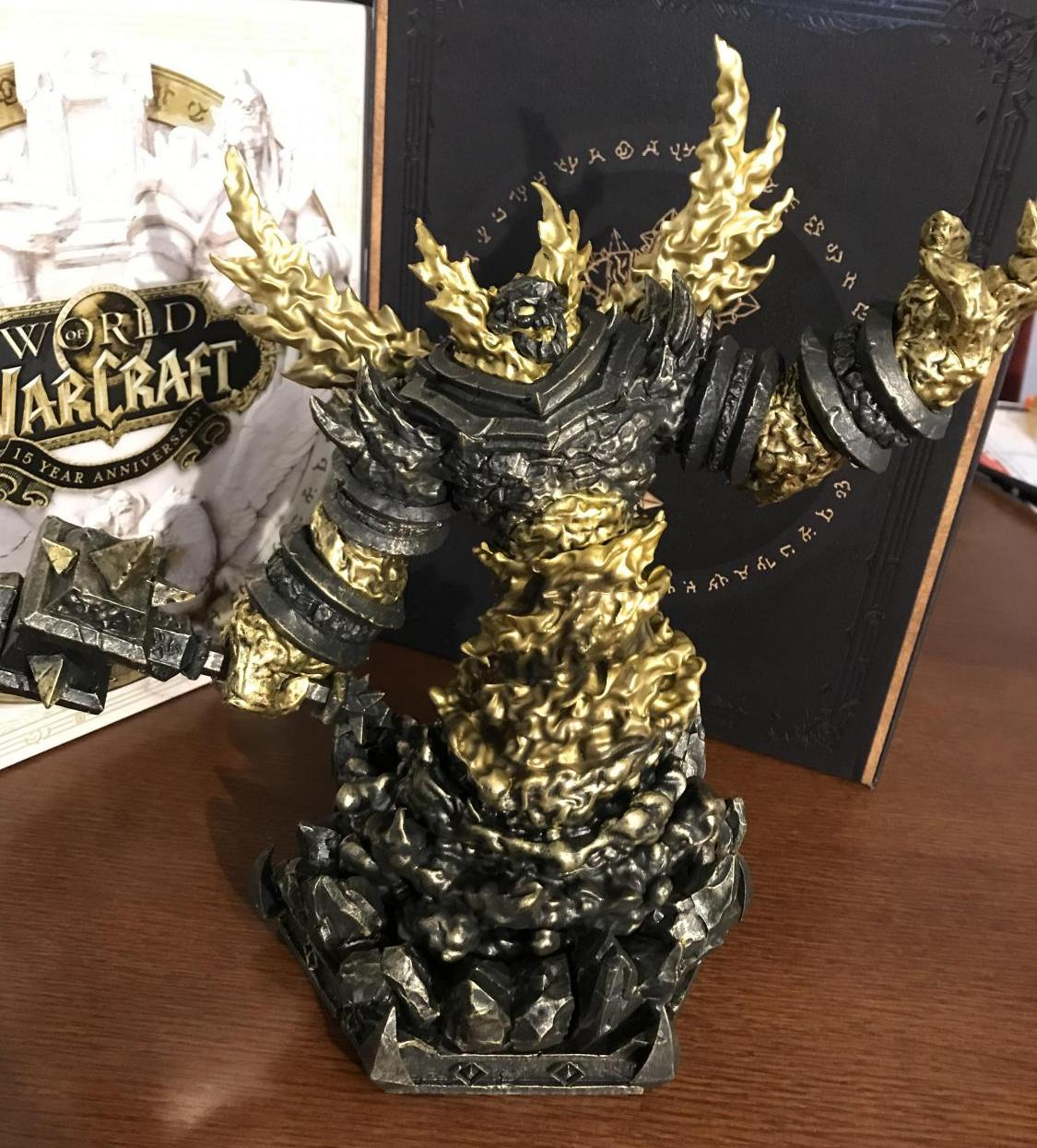 Feuerlord Ragnaros wartet darauf, im Wohnzimmer Platz zu nehmen!