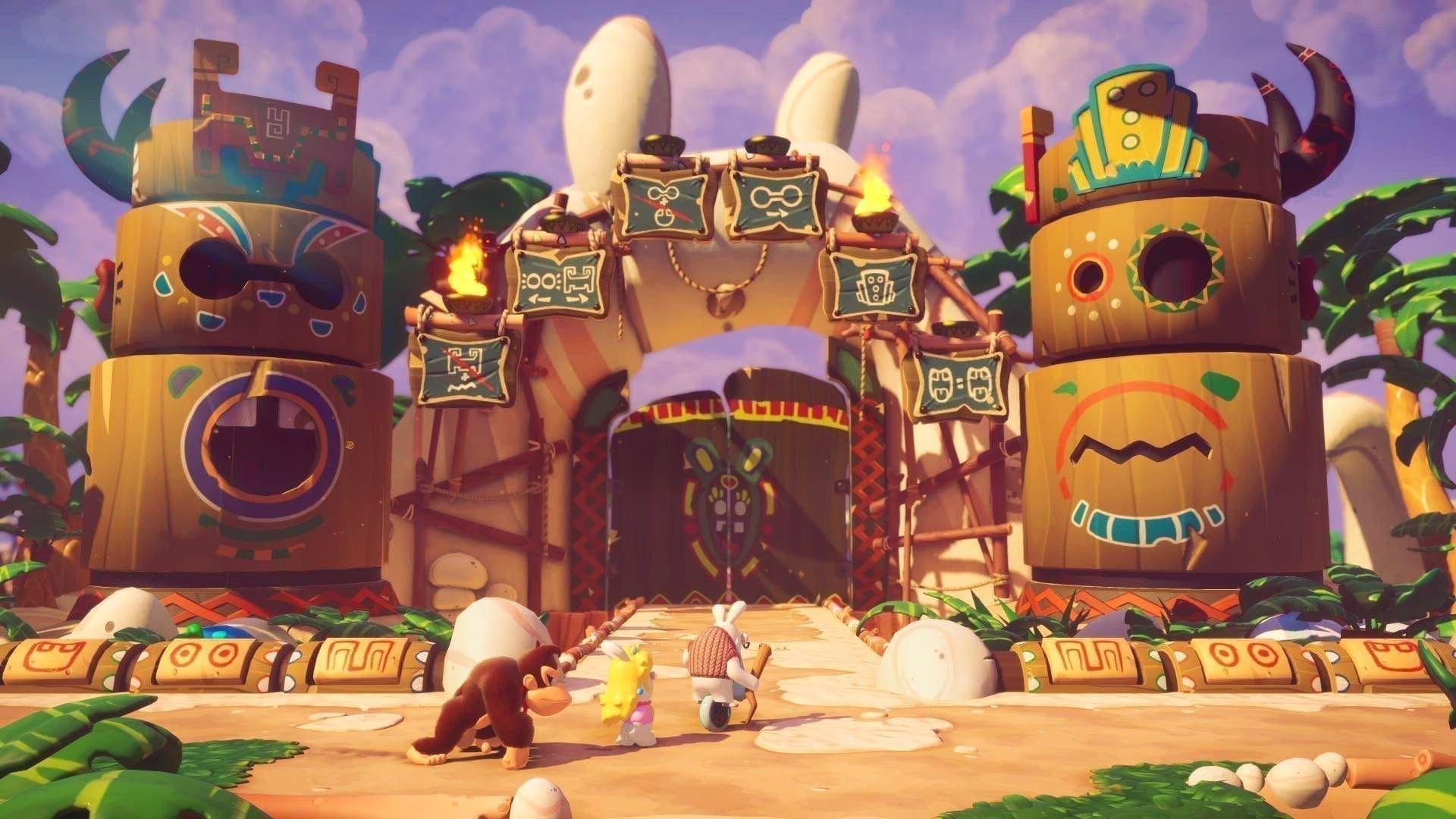 Mario + Rabbids Kingdom Battle - Donkey Kong Adventure