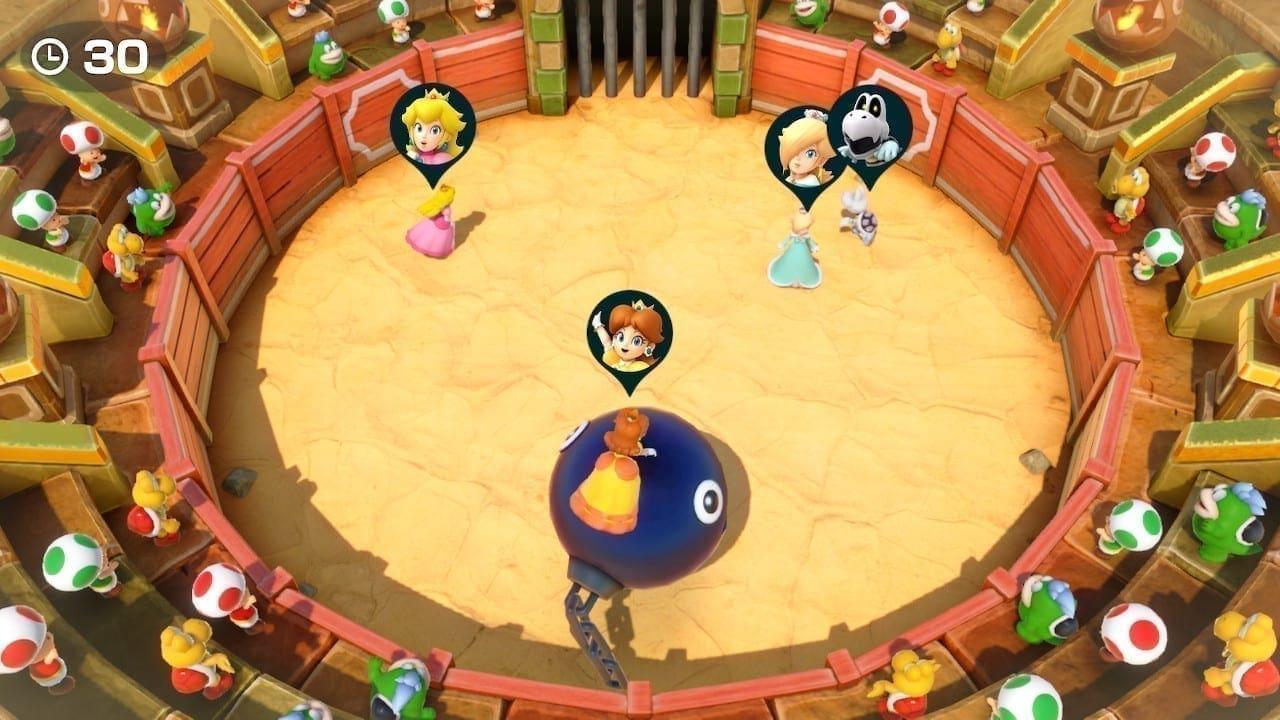 Ein Mini-Spiel in der Variante 1 vs. 3