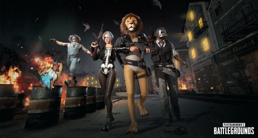 Playerunkown's Battlegrounds Halloween Kostüme