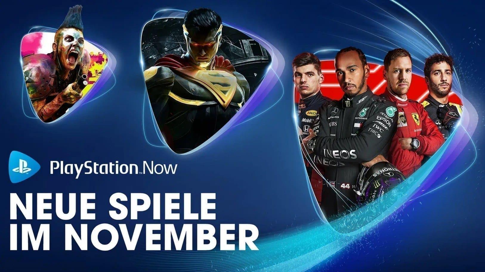 PlayStation Now November