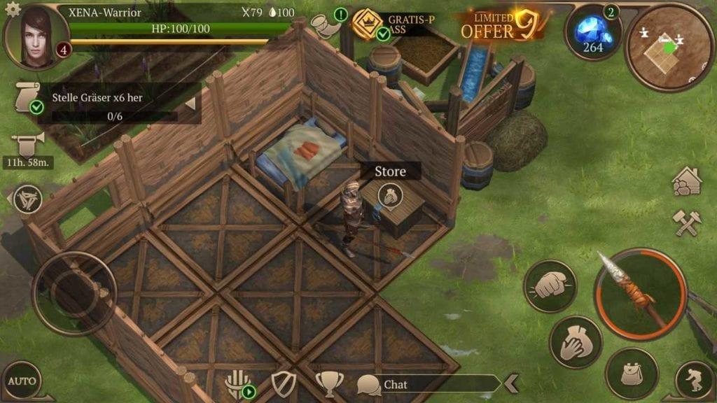 Screenshot Saga of Survival
