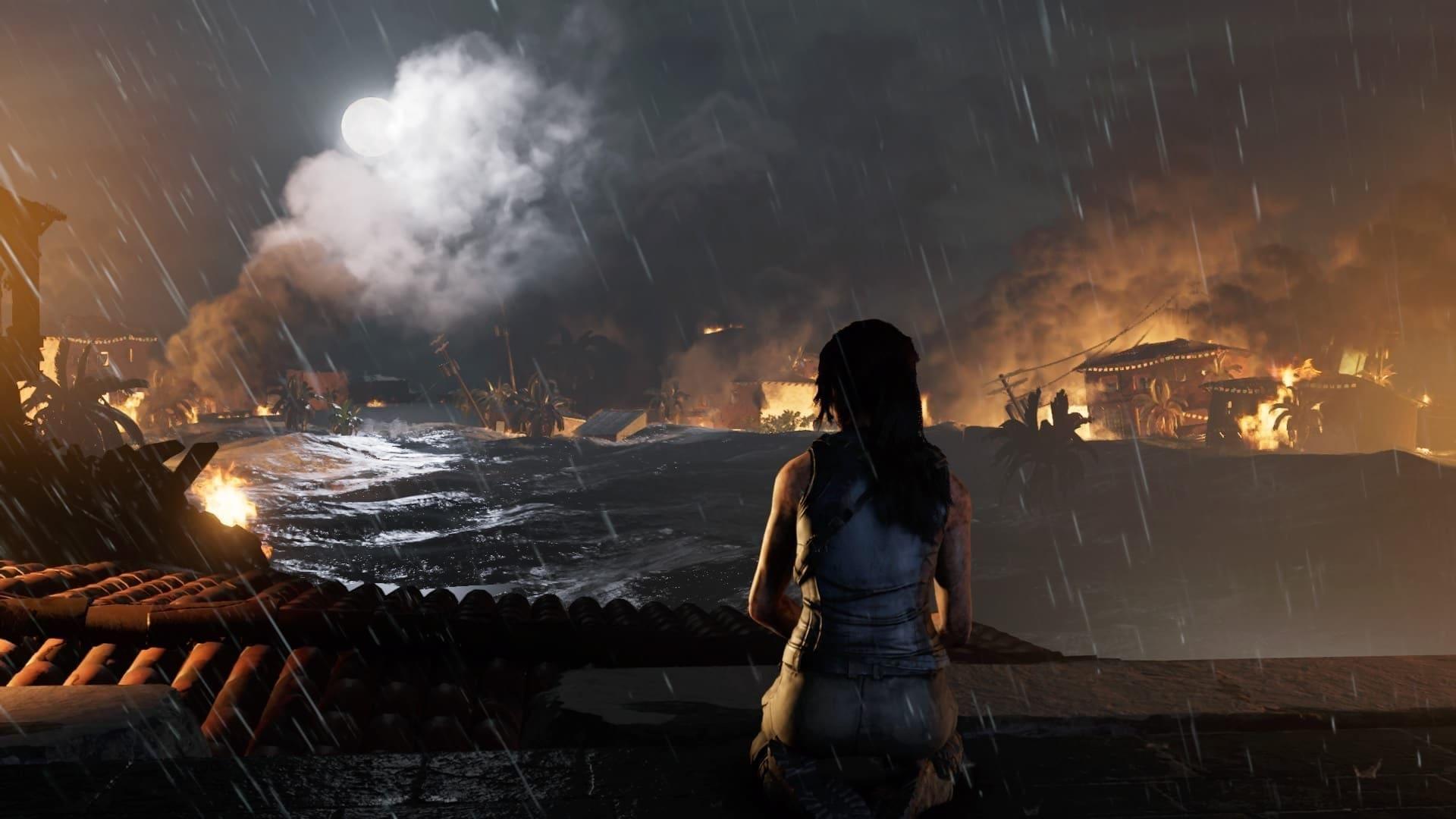Eine Sturmflut - ausgelöst durch Lara?!