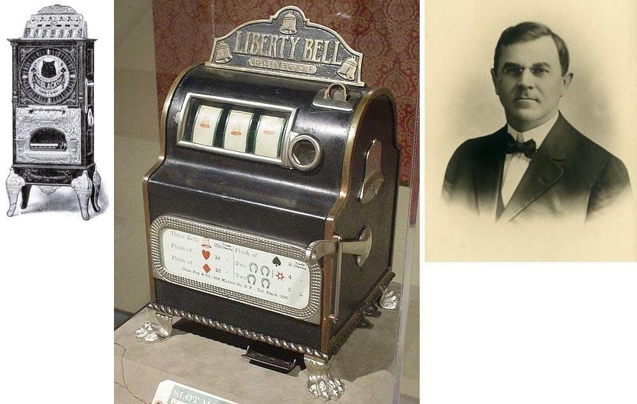 """Die ersten Spielautomaten """"Black Cat"""", """"Liberty Bell"""" und Charles Fey"""