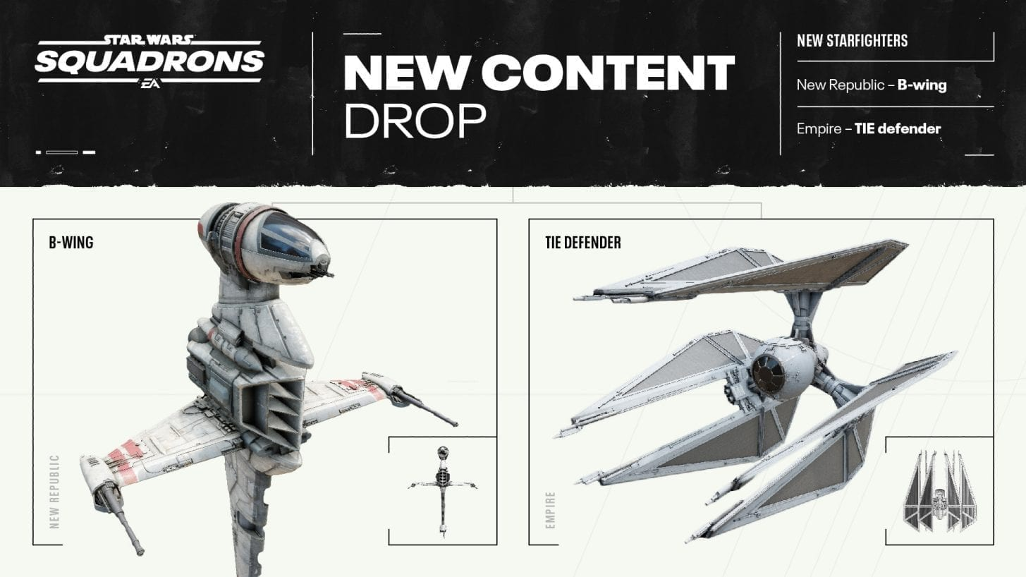 Star Wars: Squadrons Update