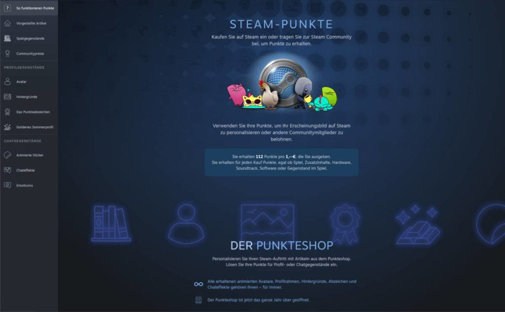 Steam Points