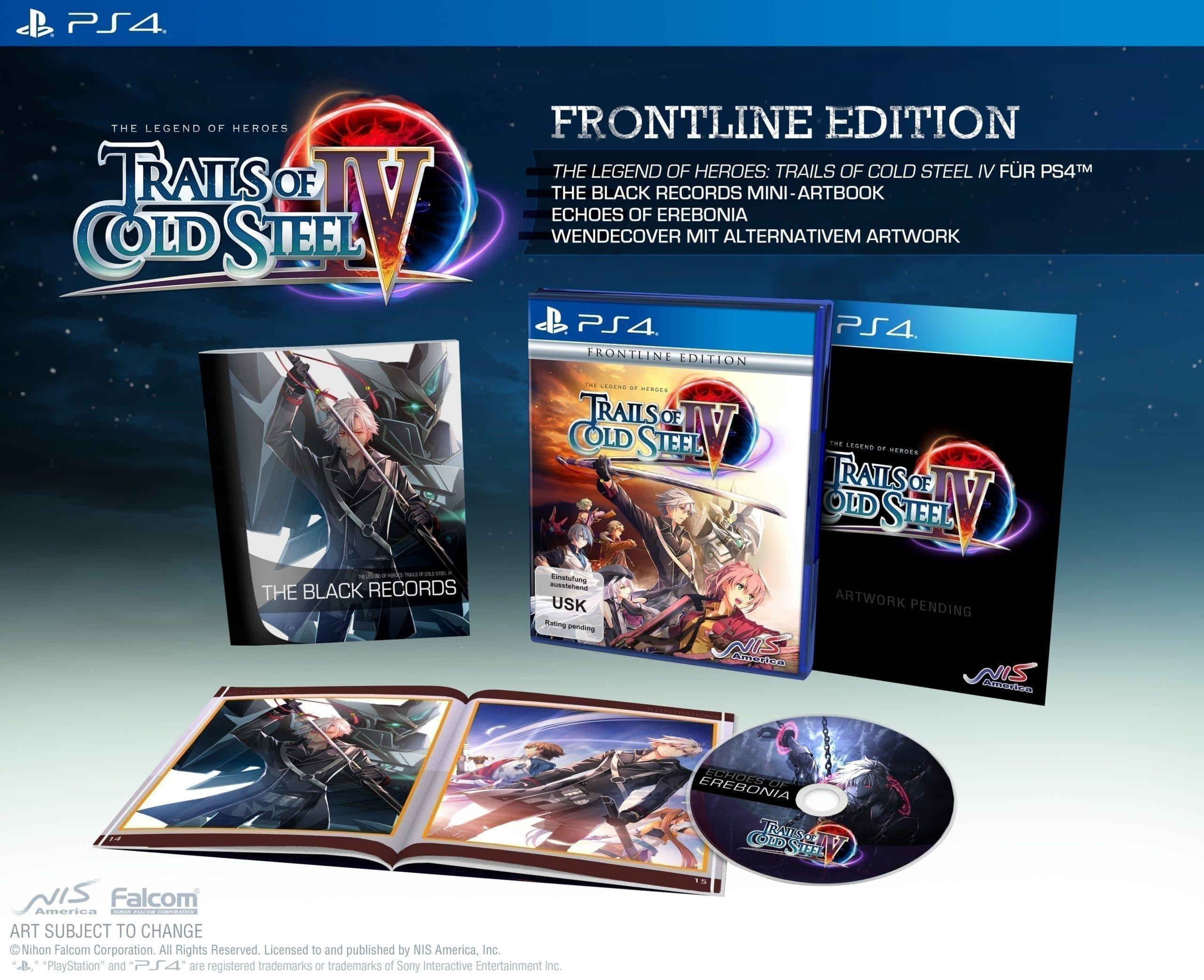 Inhalte der Frontline Edition für die PlayStation 4