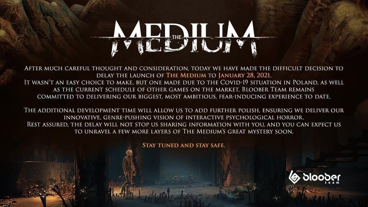 The Medium Release verschoben