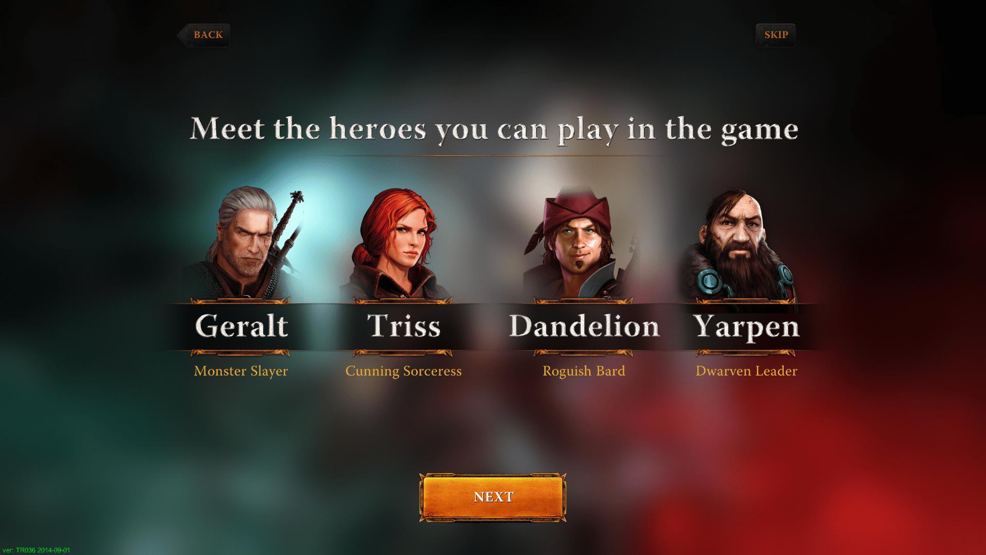Die vier Helden