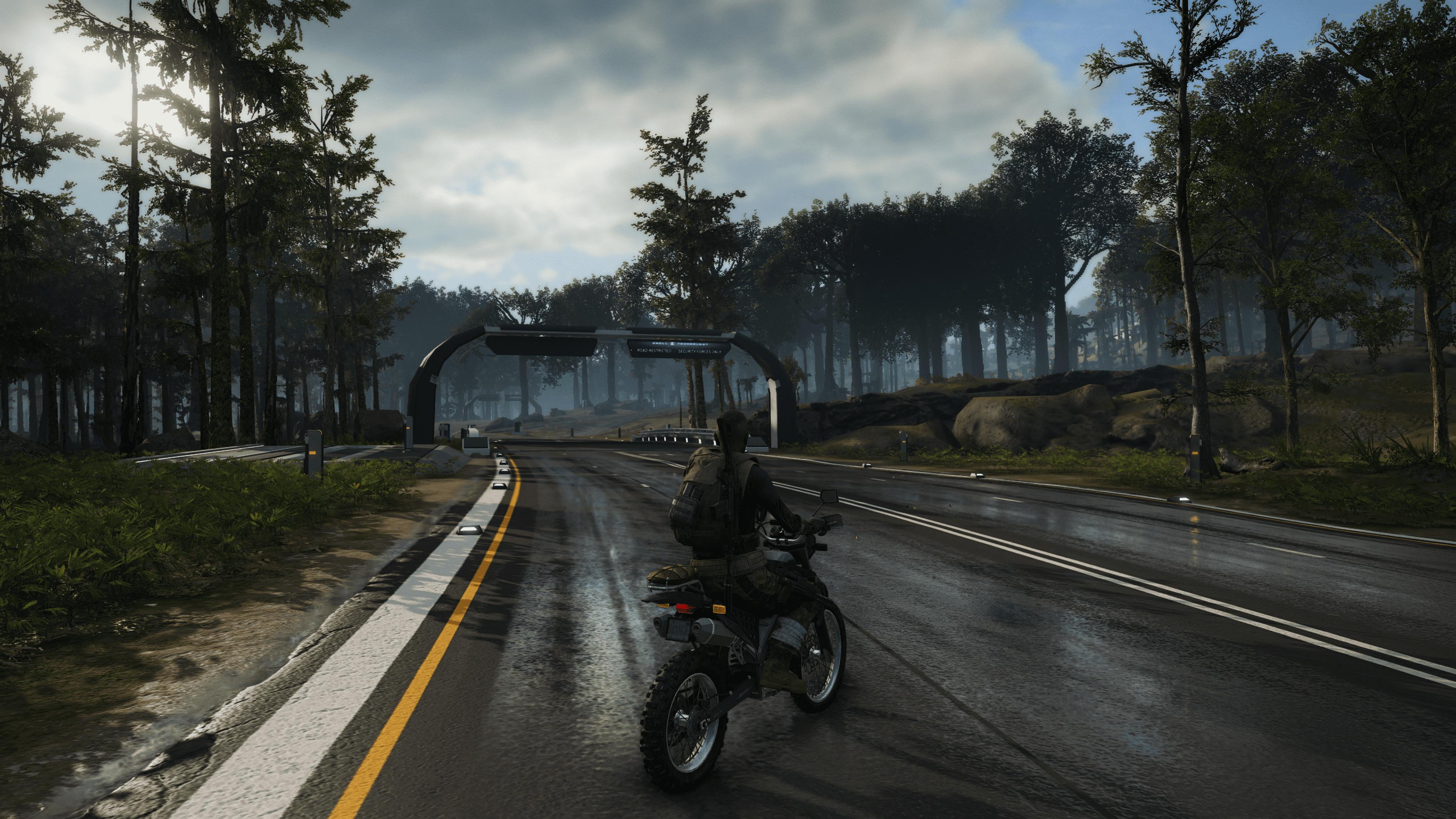 Mit dem Bike durch die Straßen Auroas.