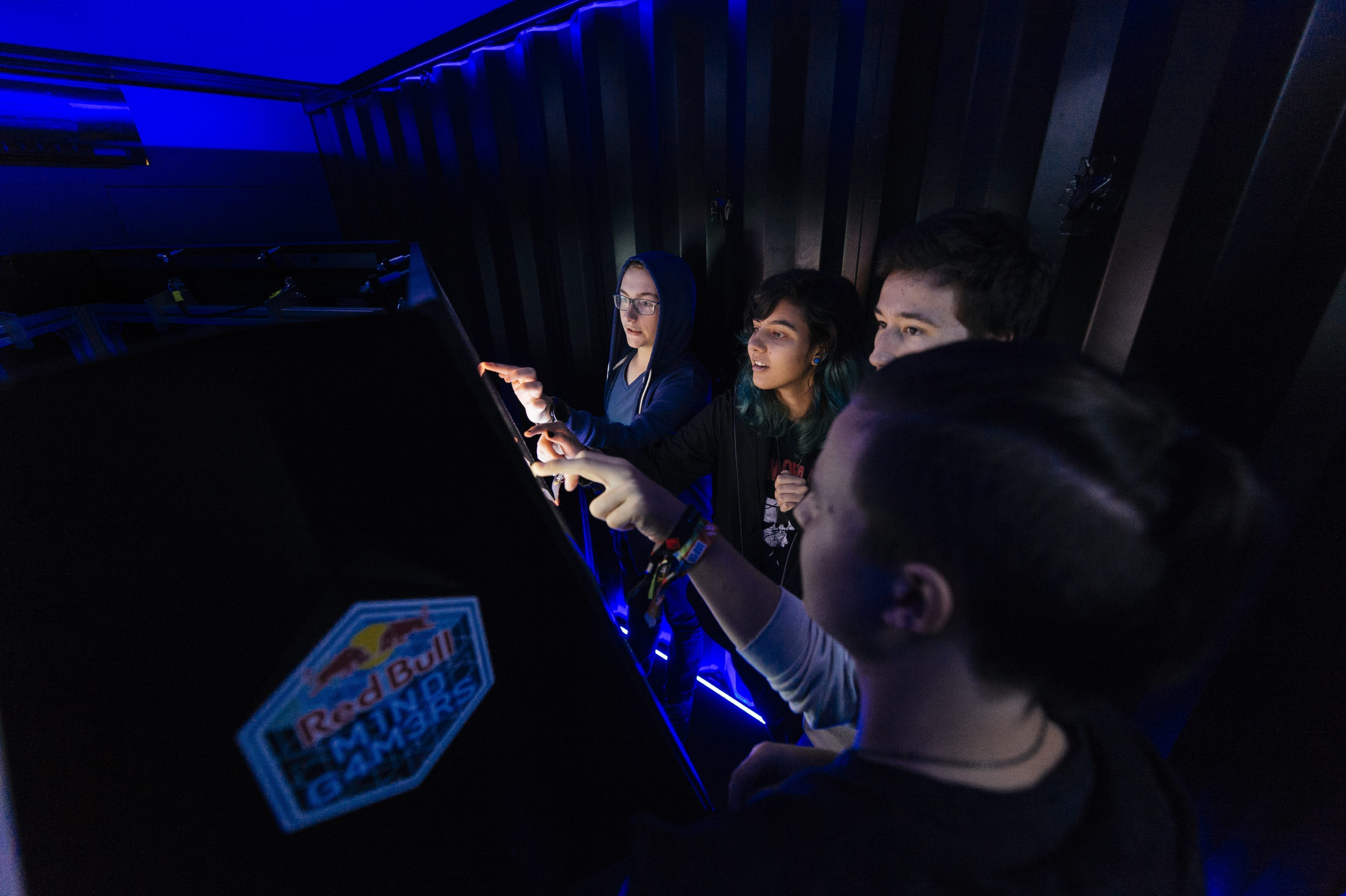 Competitors at the Red Bull Escape Room World Championship Qualifier 2018 Vienna, Austria on October 19th, 2018