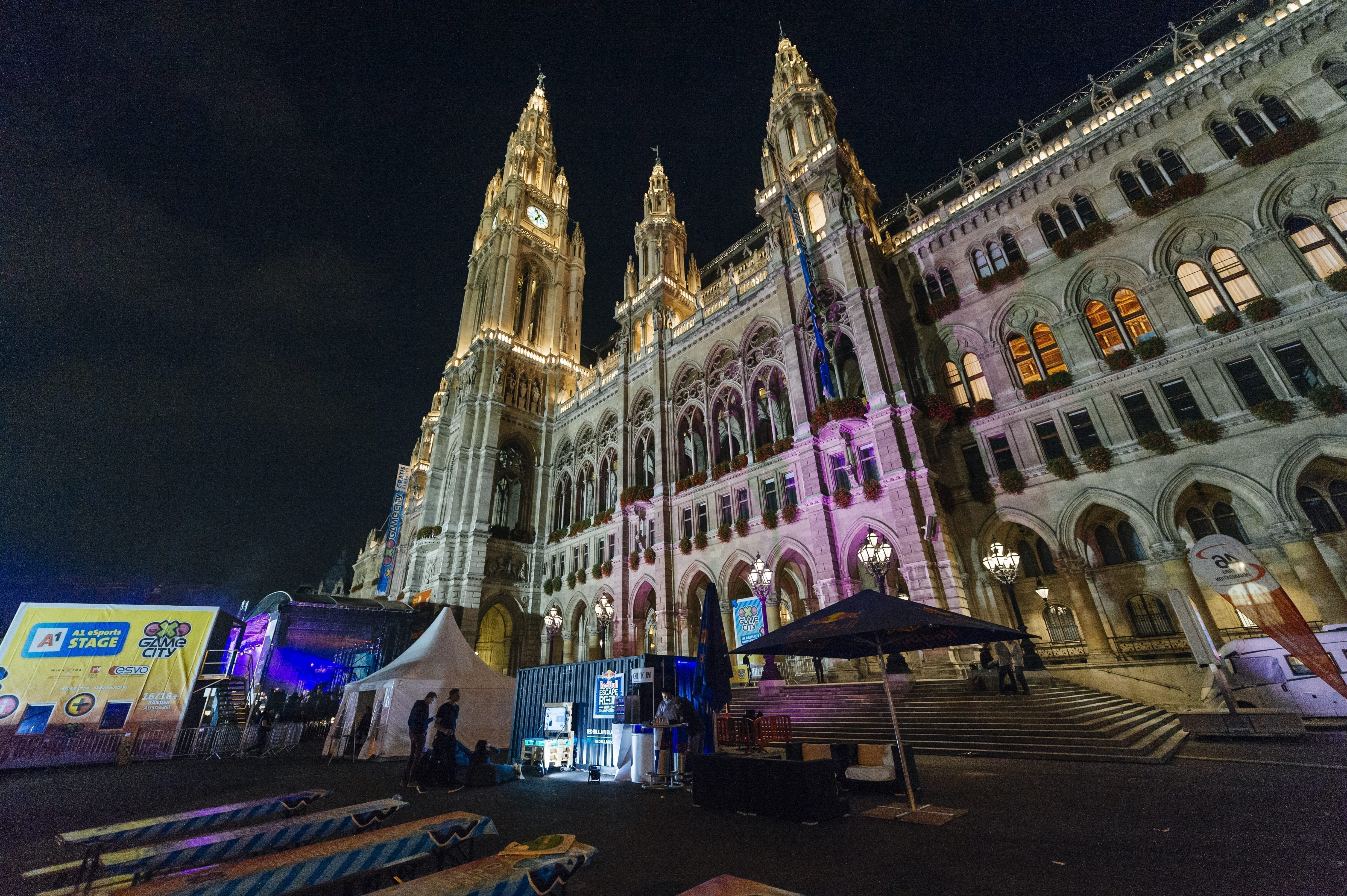 Venue of the Red Bull Escape Room World Championship Qualifier 2018 Vienna, Austria on October 19th, 2018