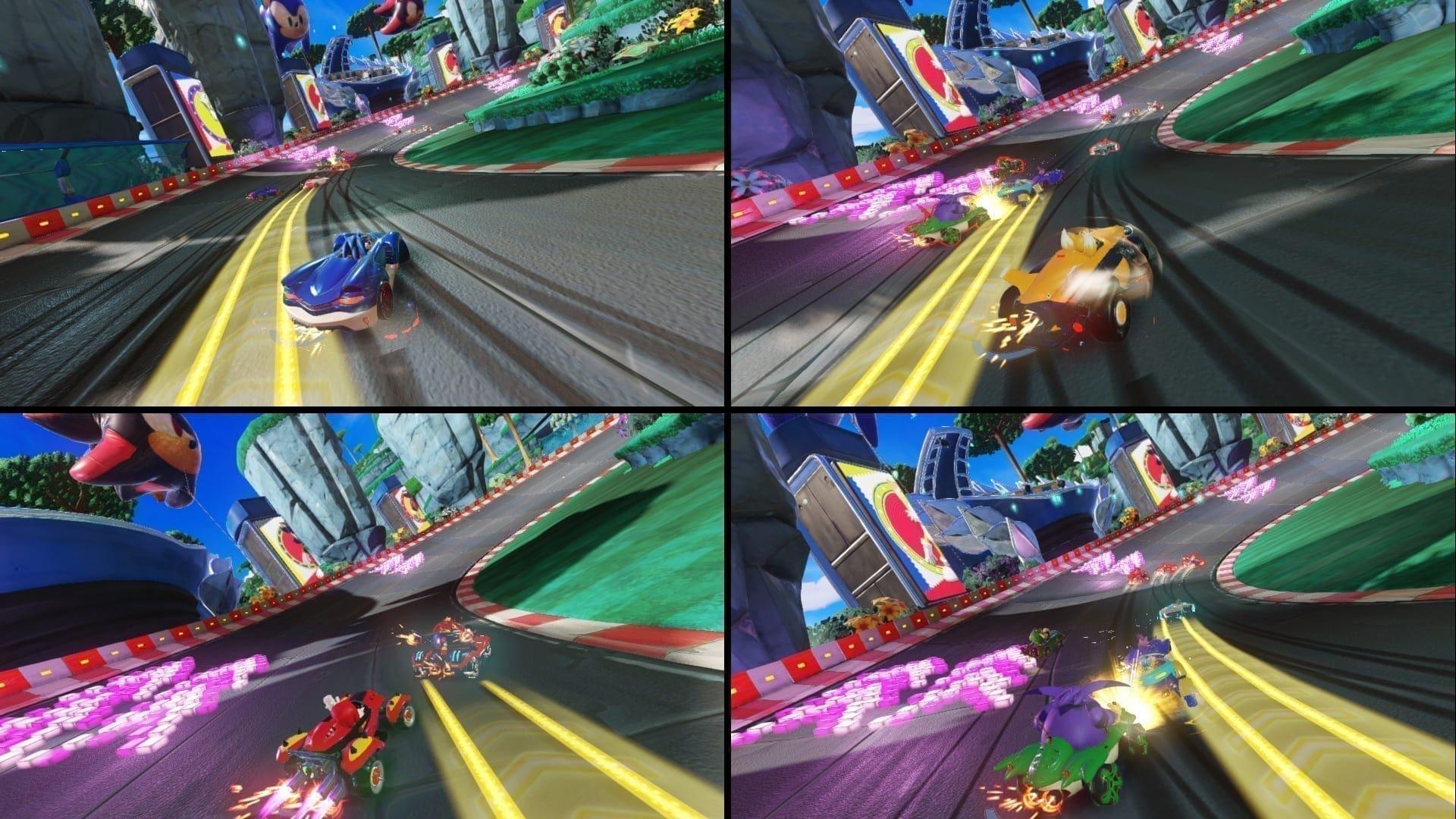 Familientauglicher Multispieler-Modus inklusive lokaler 4-Spieler-Splitscreen-Action.