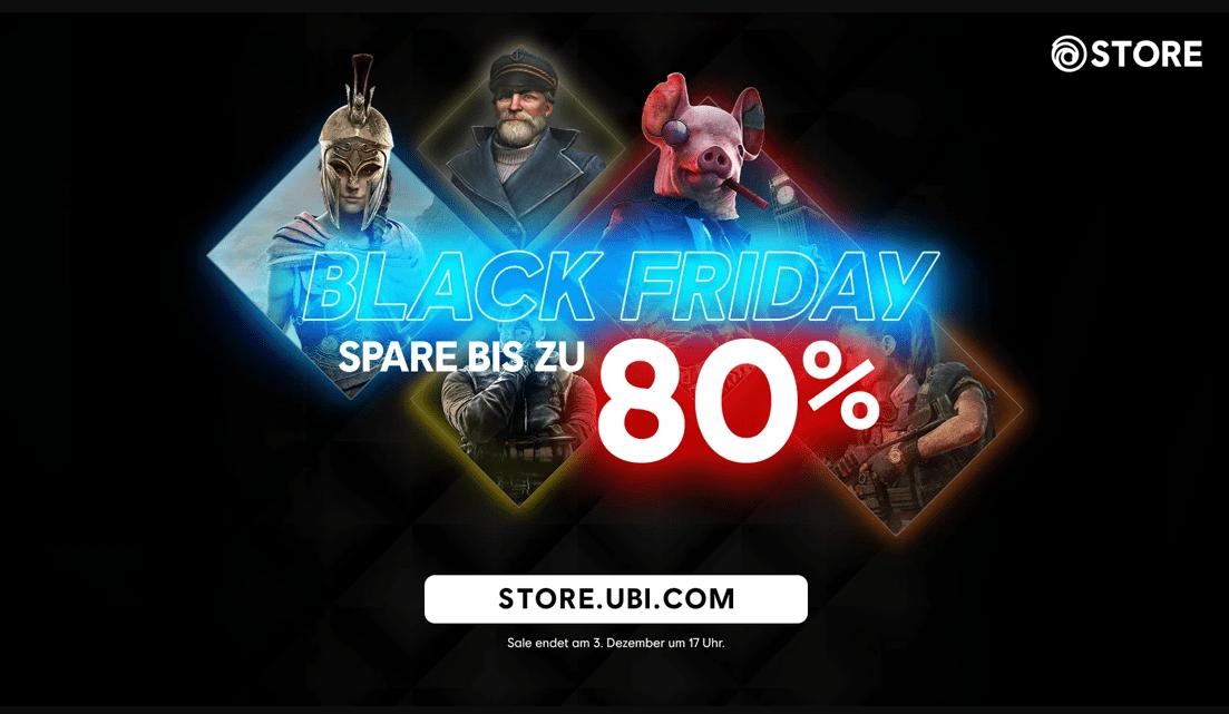 Ubisoft Store Black Friday Sale