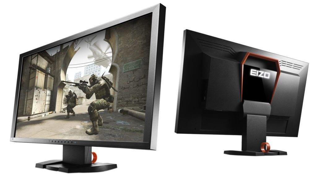 Ob sinnvoll oder nicht, orangefarbige Elemente und ein beleuchtetes Logo auf der Rückseite als klassische Gaming-Merkmale.
