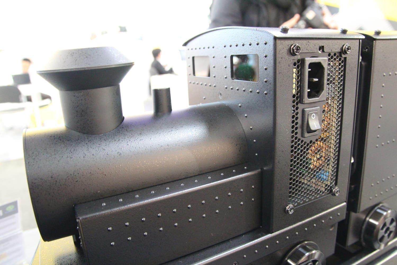 Ungewöhnliche Hardware findet man an allen Ecken und Enden der CeBIT