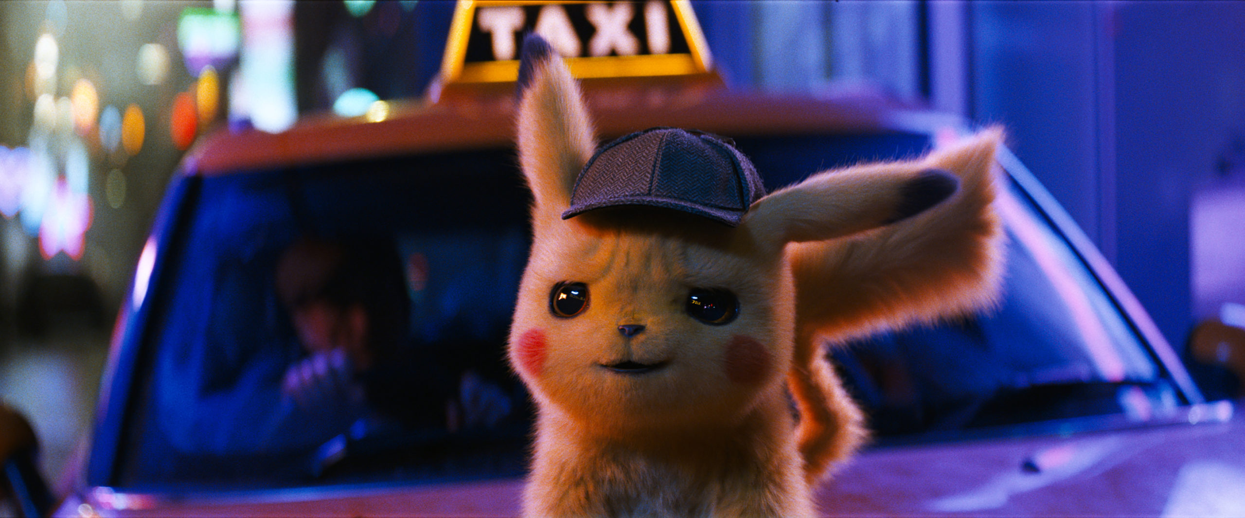 "Detective Pikachu (RYAN REYNOLDS) in Legendary Pictures' and Warner Bros. Pictures' comedy adventure ""POKÉMON DETECTIVE PIKACHU,"" a Warner Bros. Pictures release."