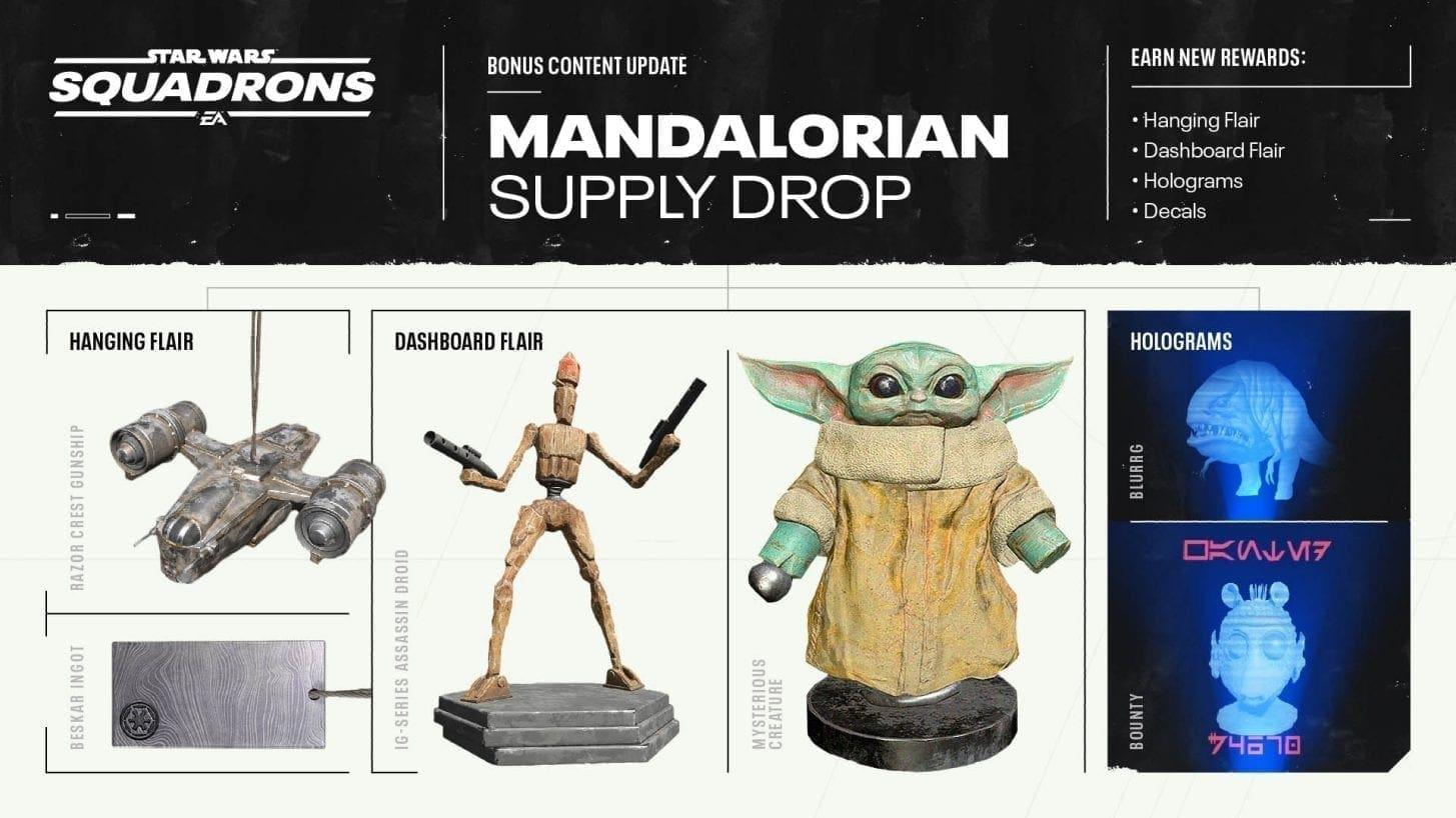Star Wars: Squadrons The Mandalorian Vorratslieferung