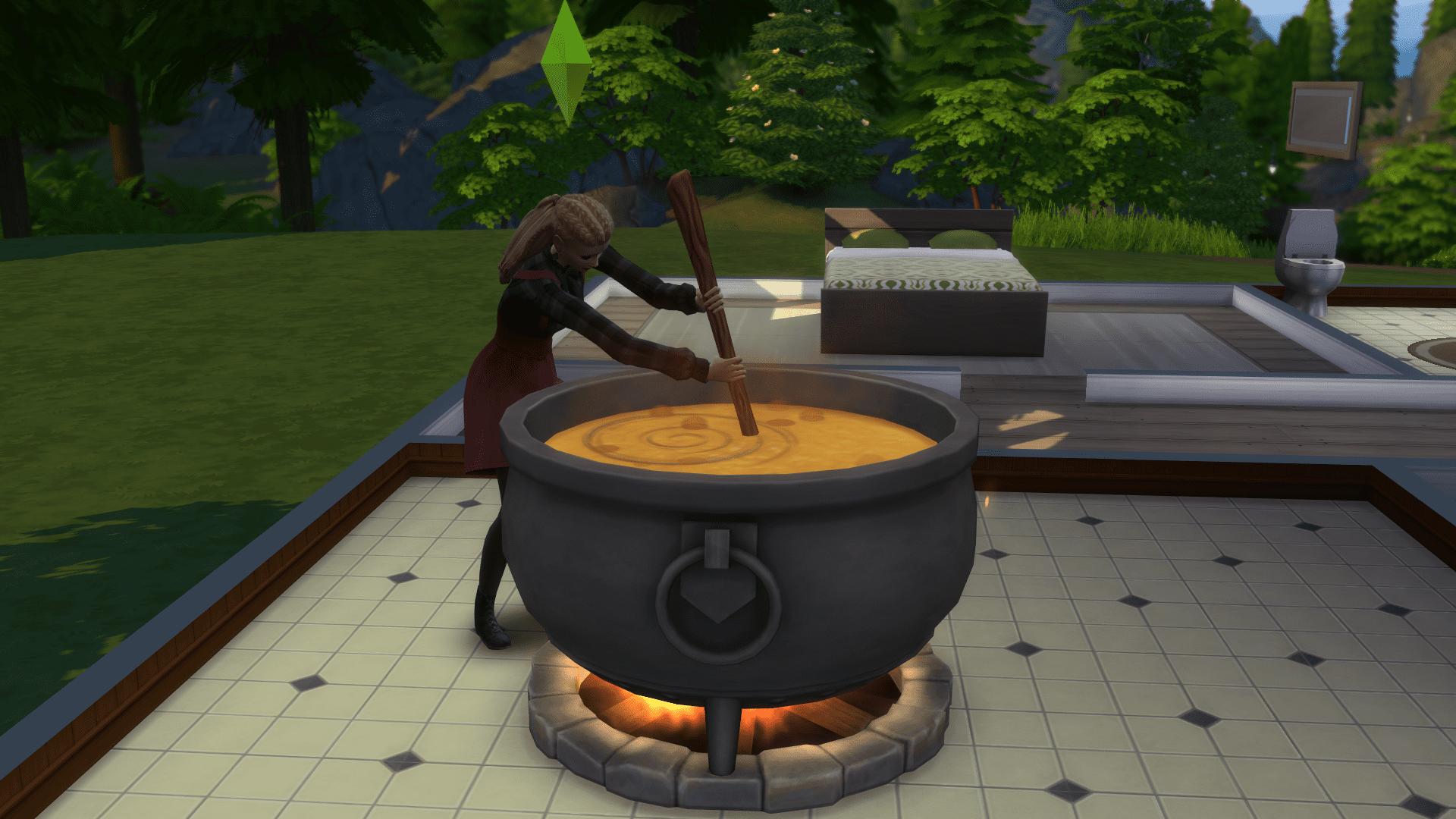 """Tja...ohne magisches Händchen, gibts im Hexenkessel nur """"Mac'n'Cheese""""!"""