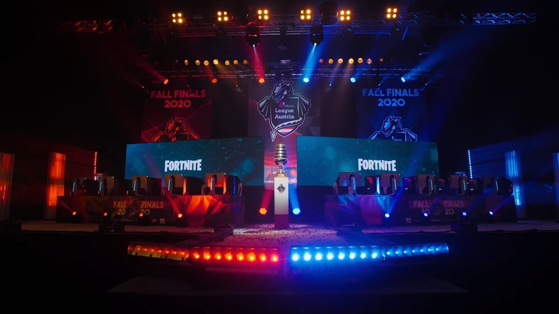 A1 eSports Fall Finals 2020 Stage