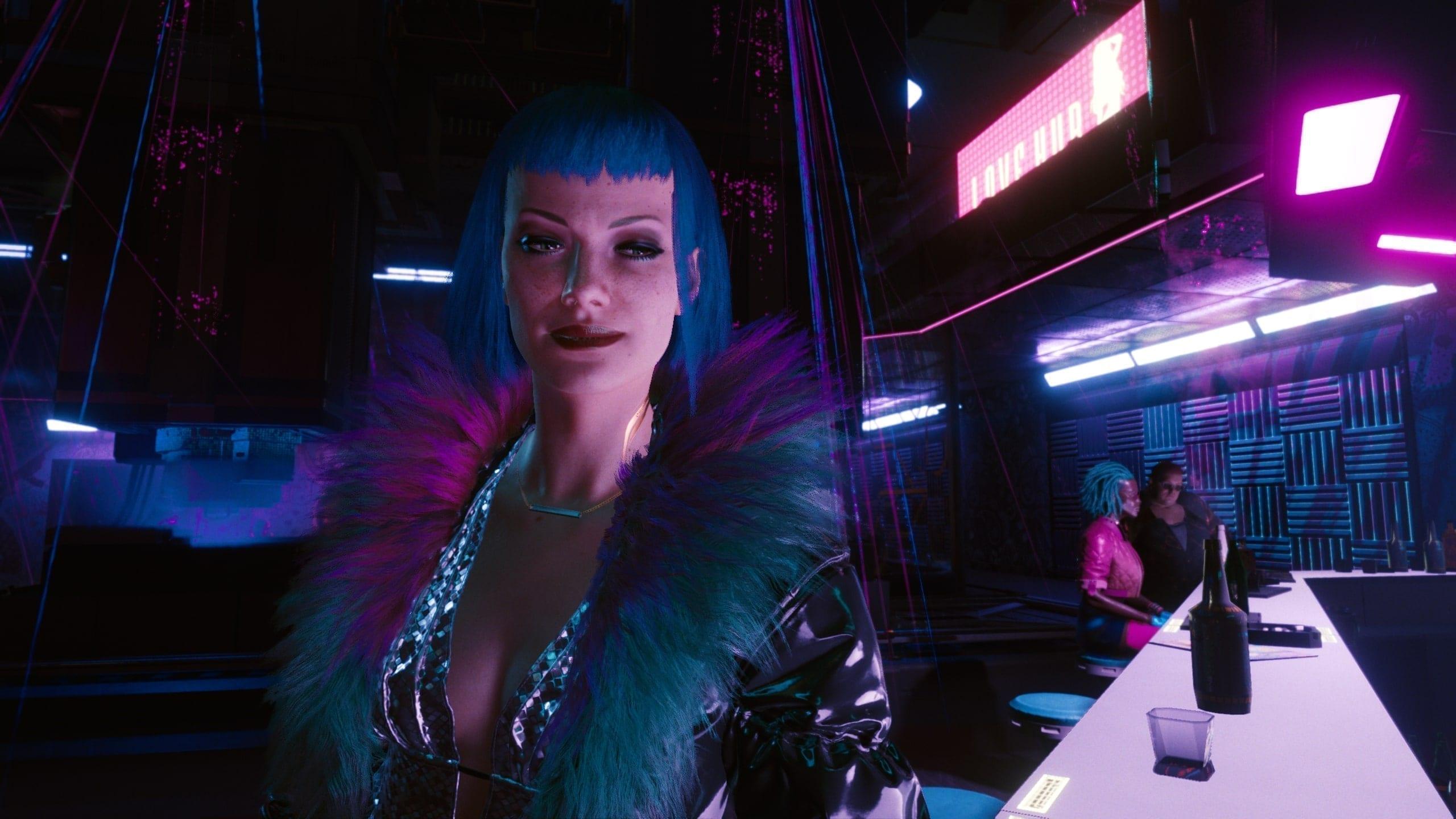 Screenshot aus dem Spiel Cyberpunk 2077