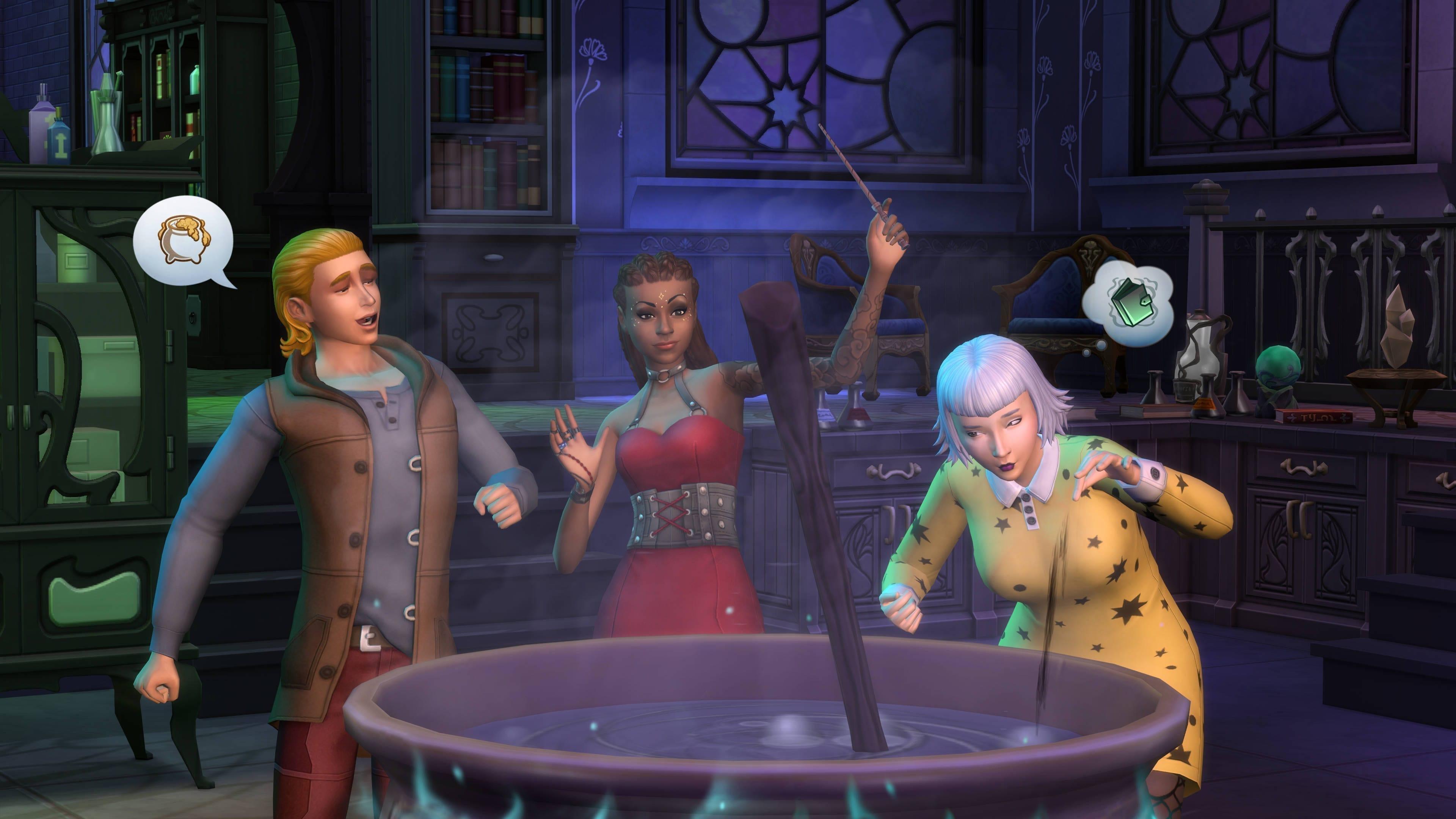Es ist Zeit, gut gestylt den Zauberstab zu schwingen, und Tränke zu brauen!