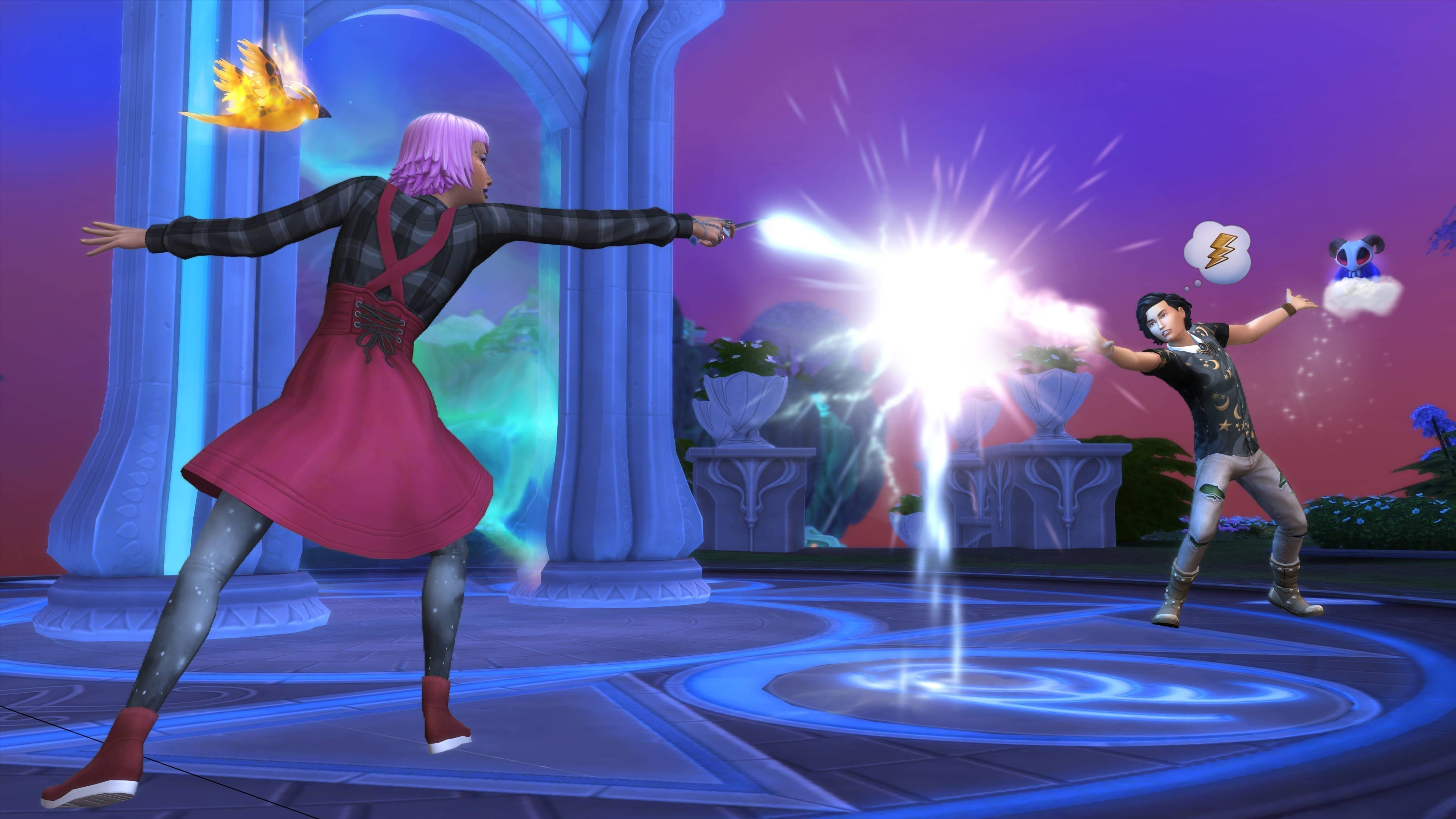 Auch magische Duelle wollen hier ausgefochten werden!