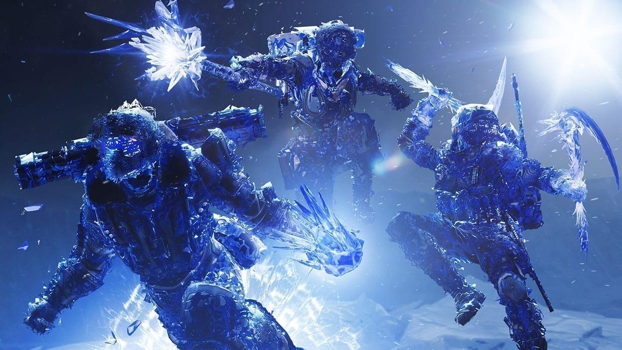 Der Screenshot des Spiels Destiny 2 zeigt Ausschnitte aus der Erweiterung Jenseits des Lichts
