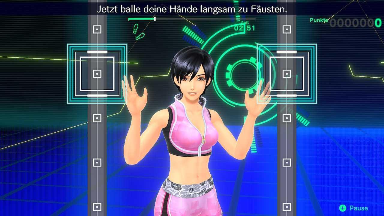 Screenshot des Spiels Fitness Boxing 2