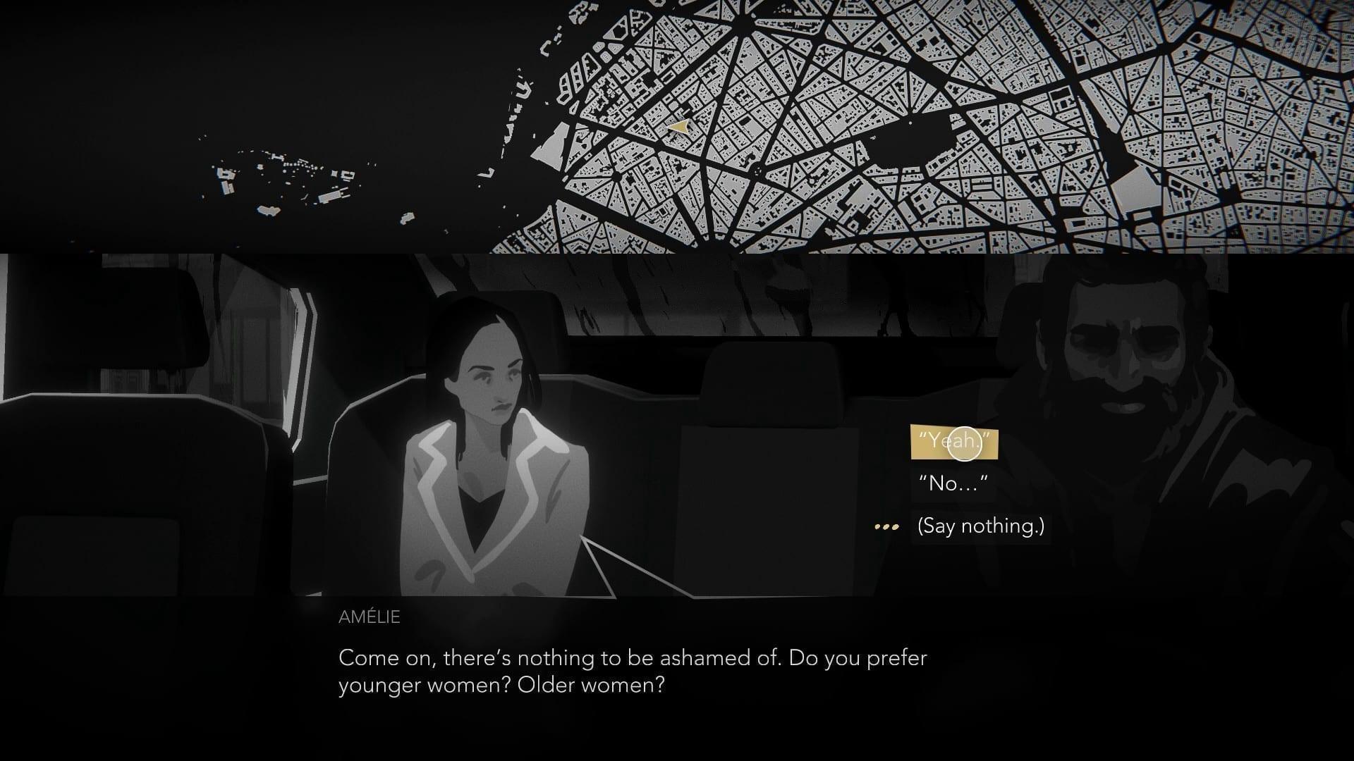 Spannende Charaktere sind Nachts in Paris unterwegs