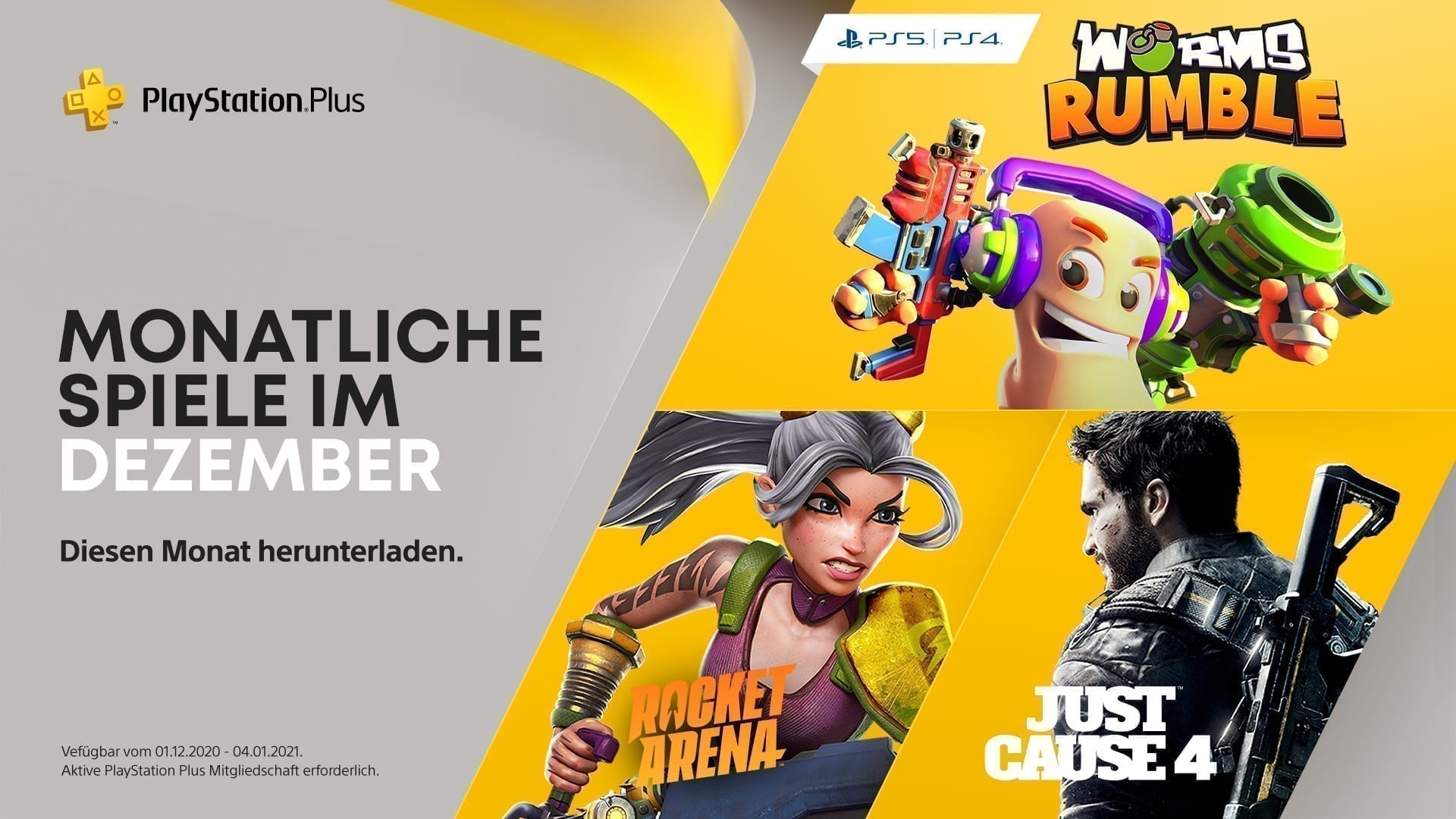 PlayStation Plus Dezember