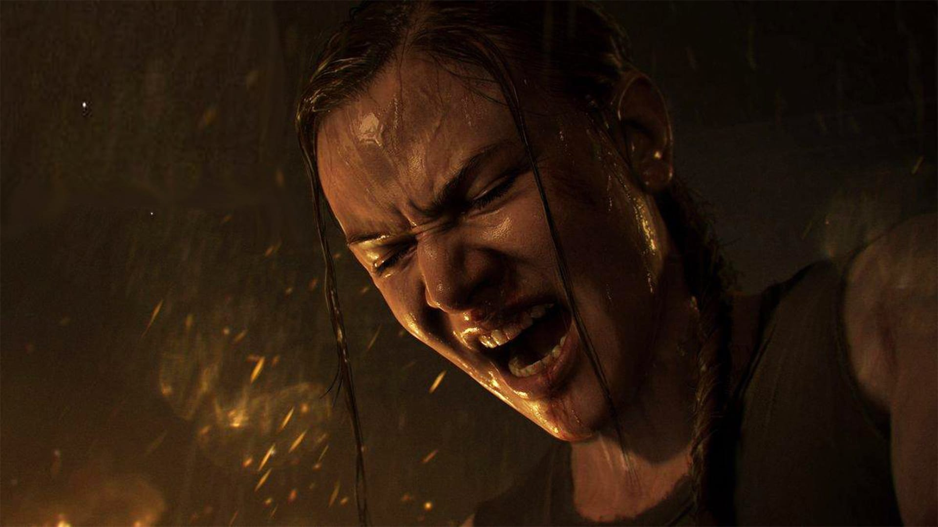 Der Screenshot des Spiels The Last Of Us PartII zeigt Abby